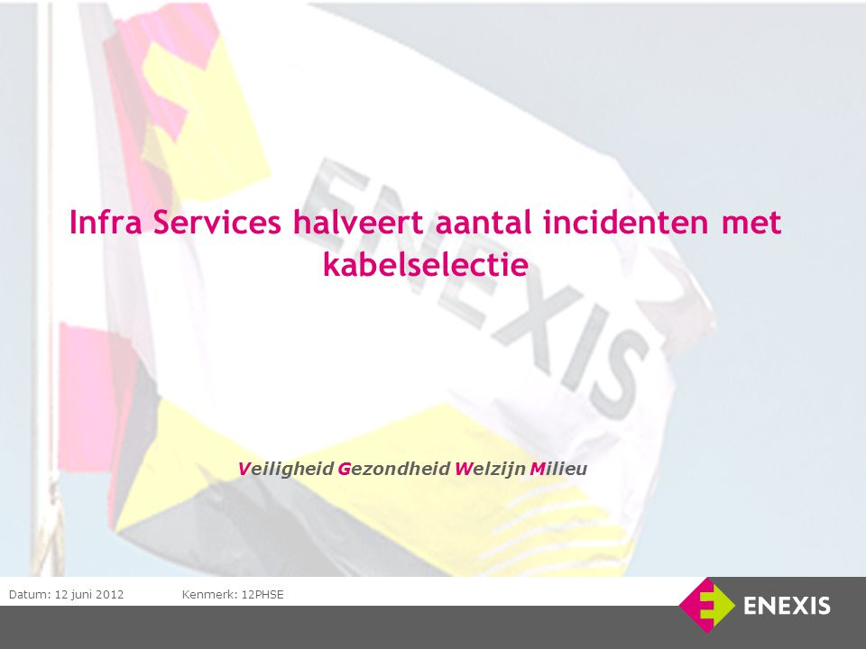 Infra Services halveert aantal incidenten met kabelselectie