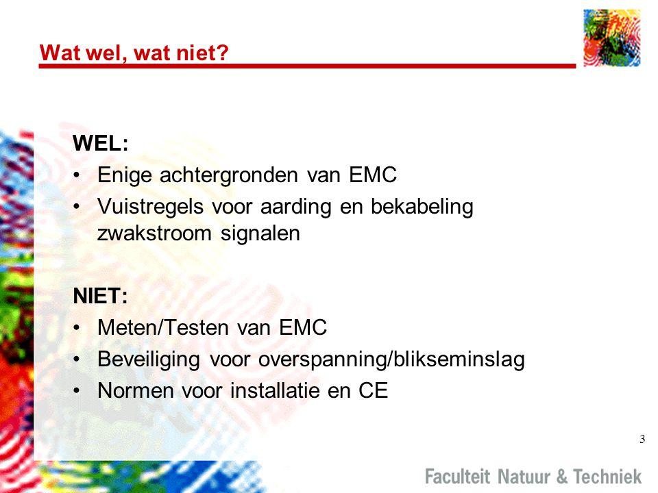Enige achtergronden van EMC