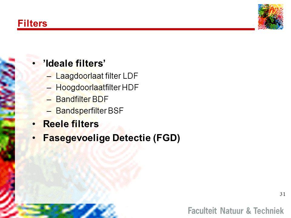 Fasegevoelige Detectie (FGD)
