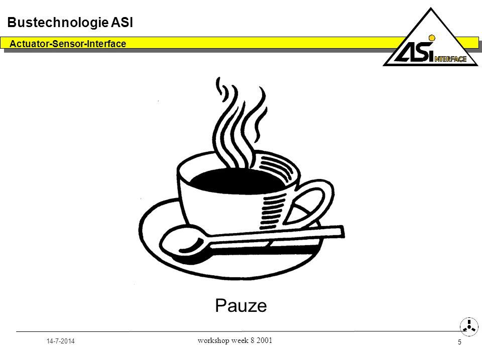 Pauze Bustechnologie ASI Actuator-Sensor-Interface