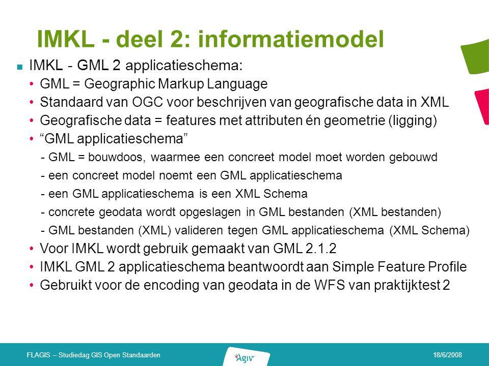 IMKL - deel 2: informatiemodel