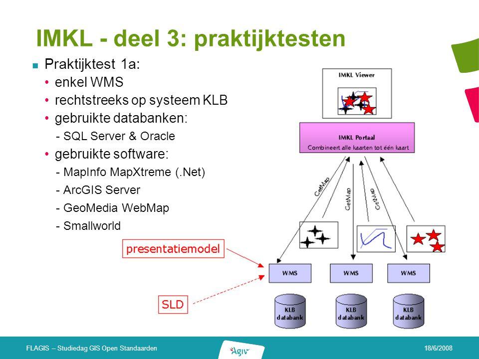 IMKL - deel 3: praktijktesten