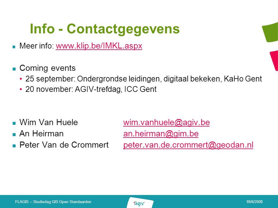 Info - Contactgegevens