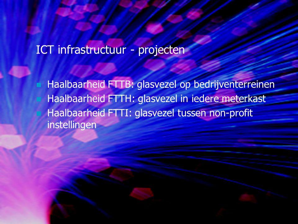 ICT infrastructuur - projecten