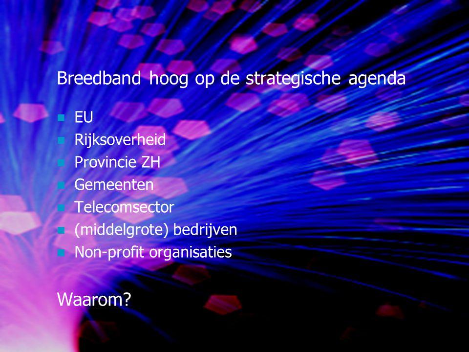 Breedband hoog op de strategische agenda