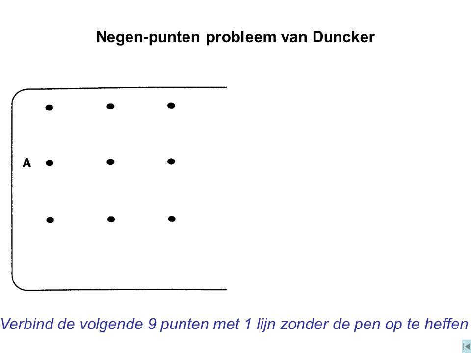 Negen-punten probleem van Duncker