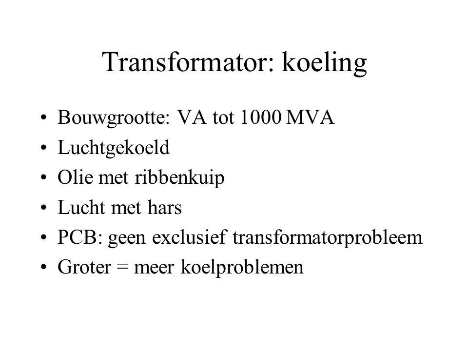 Transformator: koeling