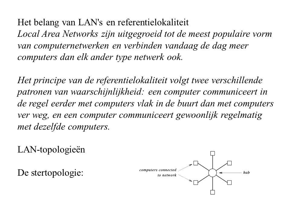 Het belang van LAN s en referentielokaliteit