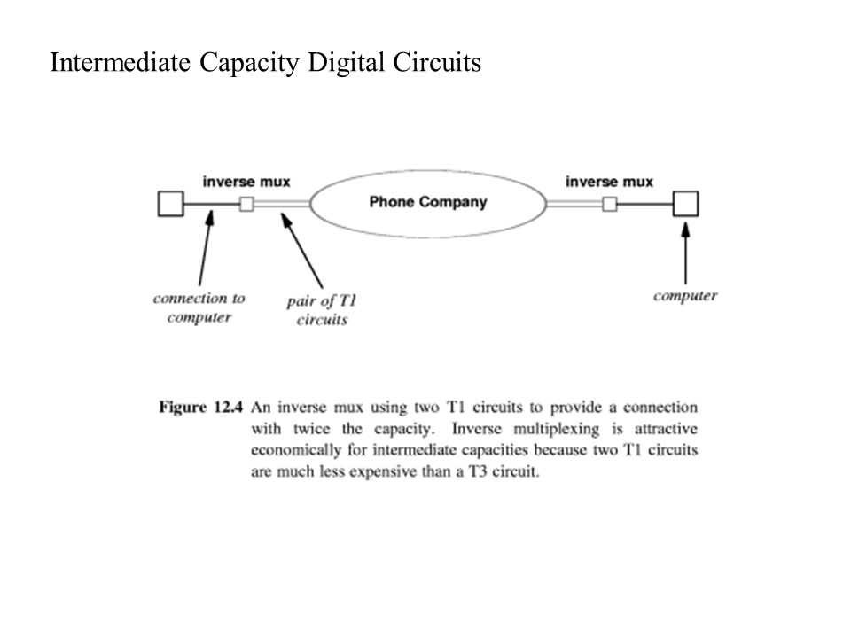 Intermediate Capacity Digital Circuits