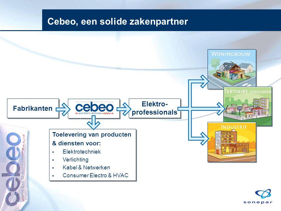 Cebeo, een solide zakenpartner
