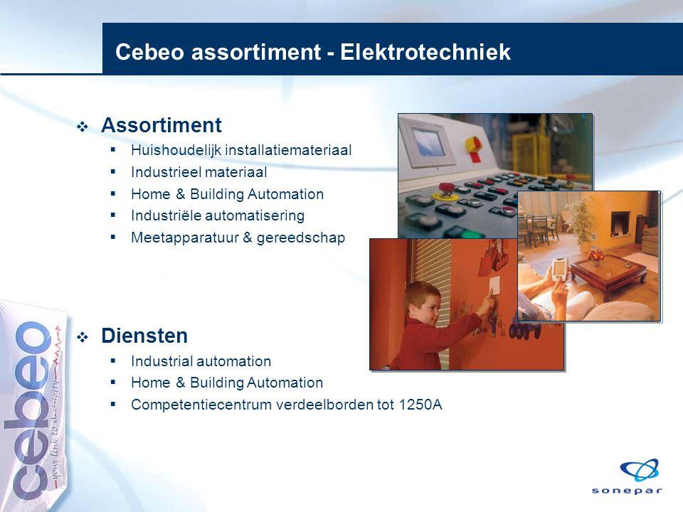 Cebeo assortiment - Elektrotechniek