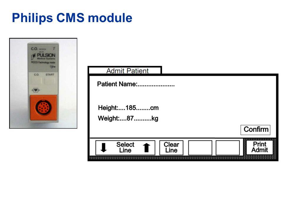 Philips CMS module