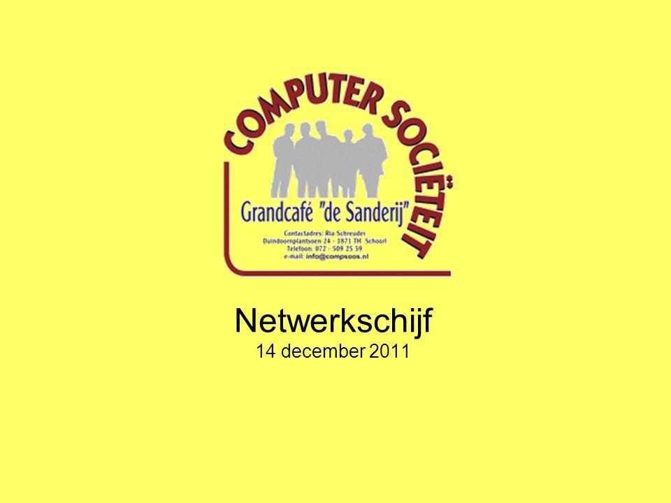 Netwerkschijf 14 december 2011