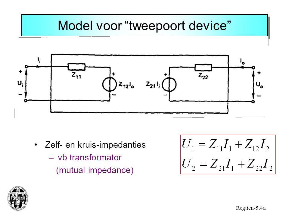 Model voor tweepoort device