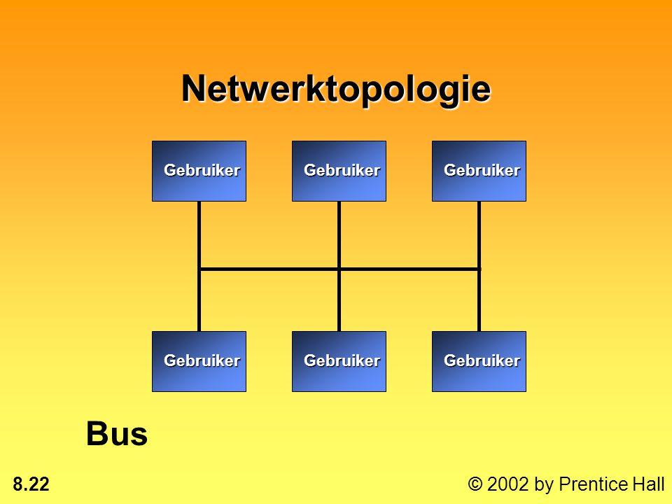 Netwerktopologie Gebruiker Bus