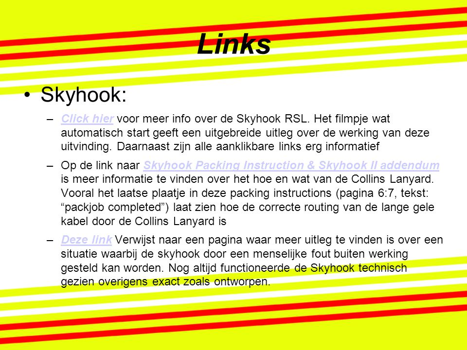Links Skyhook: