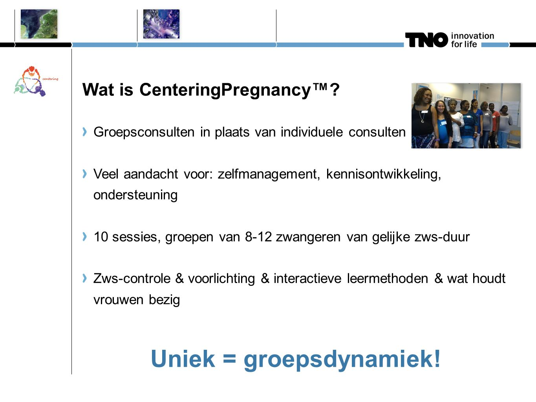 Wat is CenteringPregnancy™