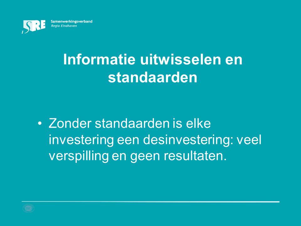 Informatie uitwisselen en standaarden