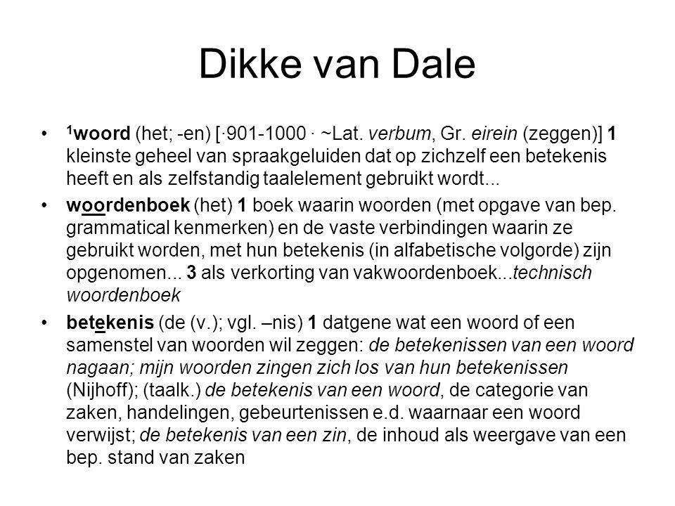 Dikke van Dale