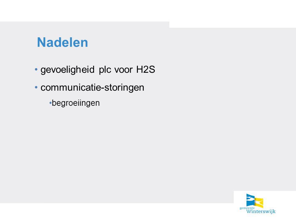 Nadelen gevoeligheid plc voor H2S communicatie-storingen begroeiingen