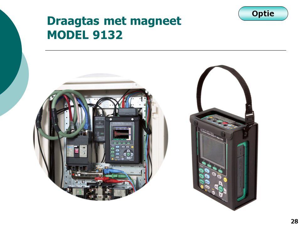 Draagtas met magneet MODEL 9132