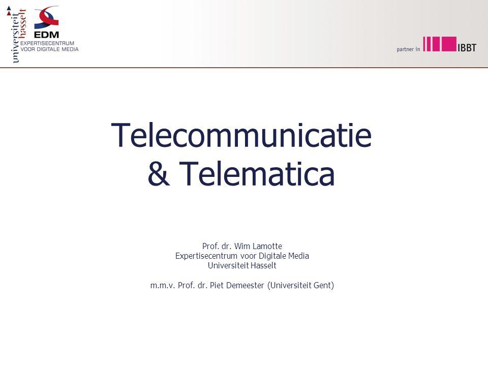 Telecommunicatie & Telematica