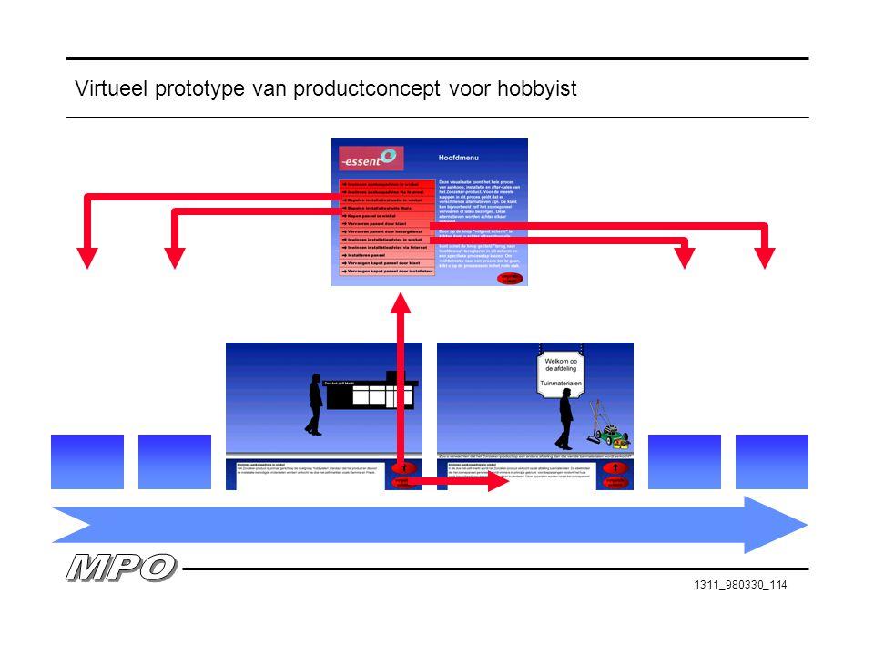 Virtueel prototype van productconcept voor hobbyist