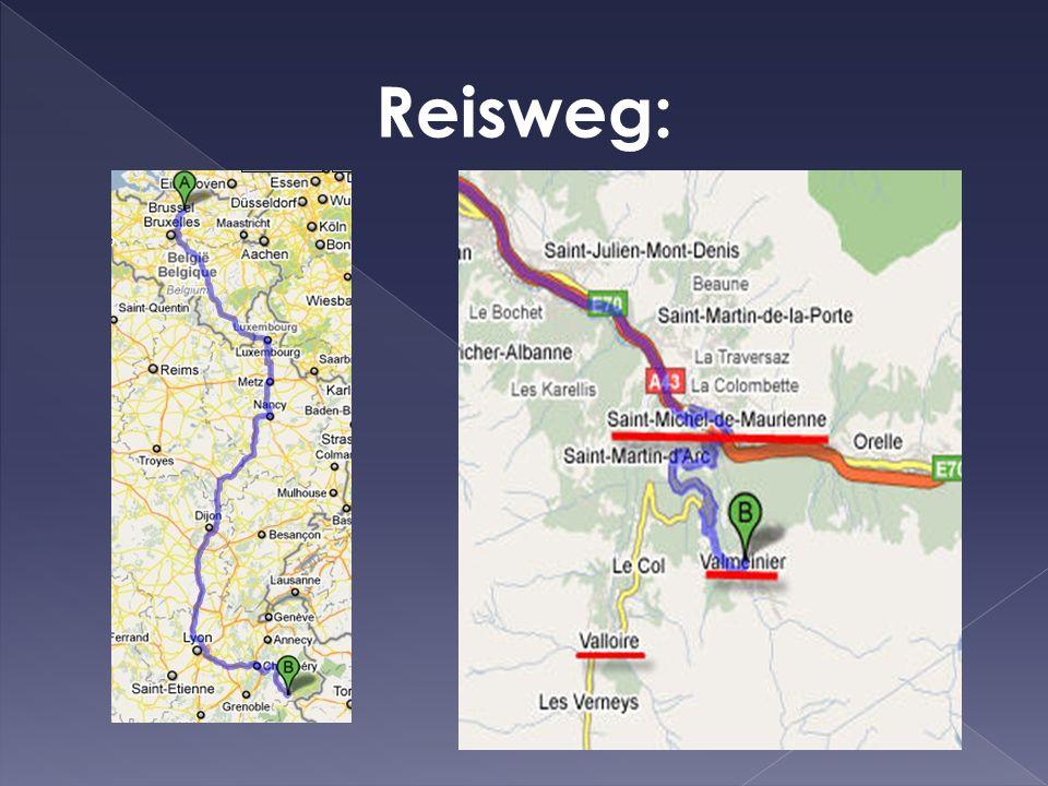 Reisweg: