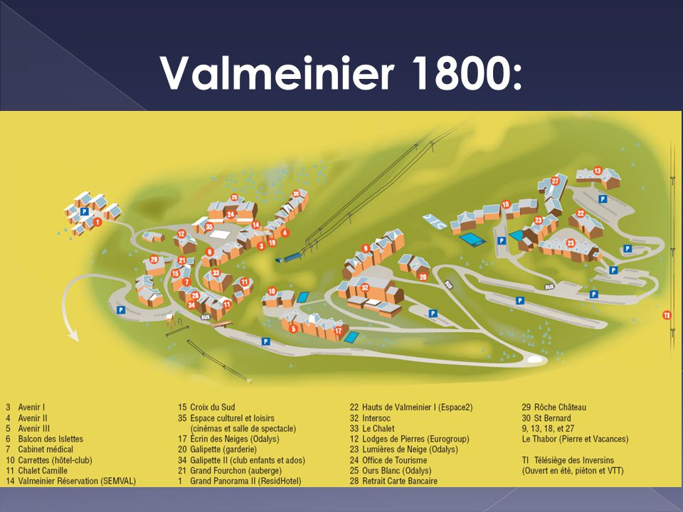 Valmeinier 1800: