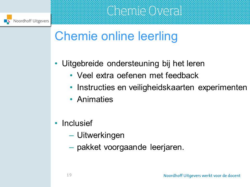 Chemie online leerling