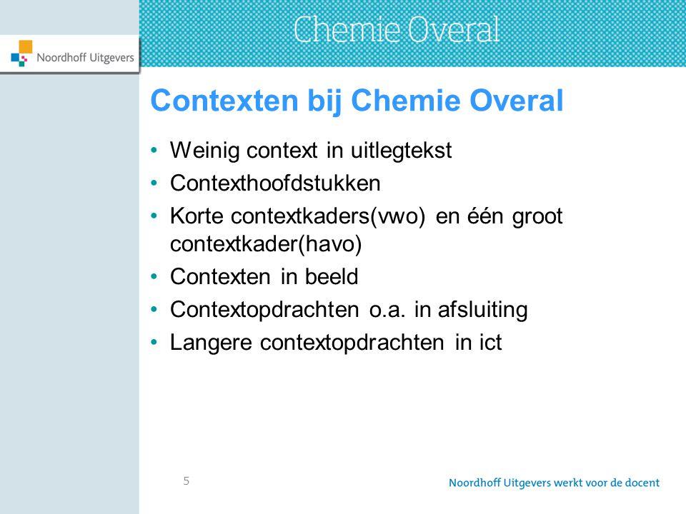 Contexten bij Chemie Overal