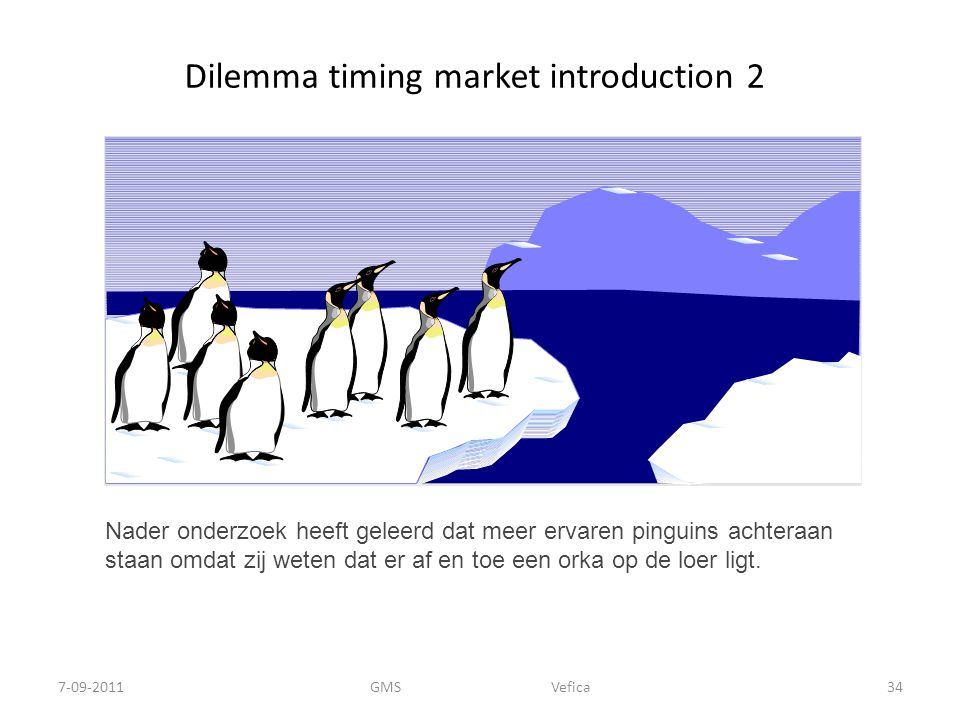 Dilemma timing market introduction 2