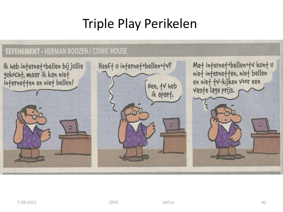 Triple Play Perikelen GMS Vefica