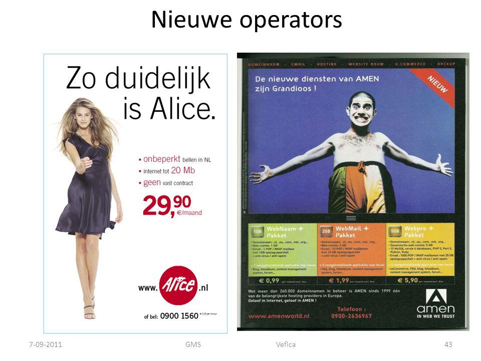 Nieuwe operators 7-09-2011 GMS Vefica