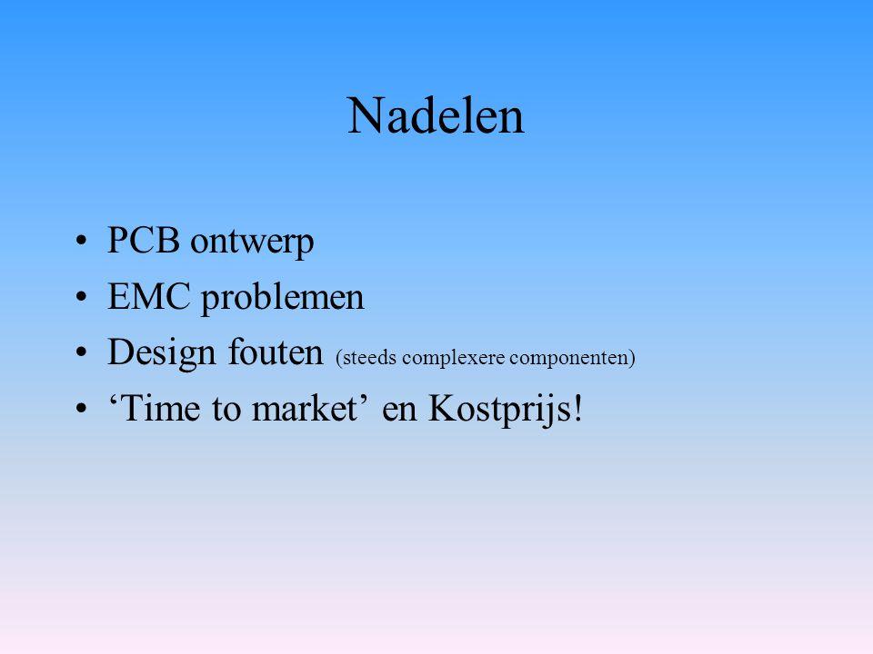 Nadelen PCB ontwerp EMC problemen