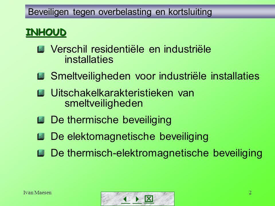 Verschil residentiële en industriële installaties