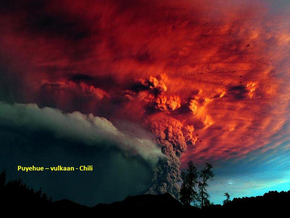 Puyehue – vulkaan - Chili
