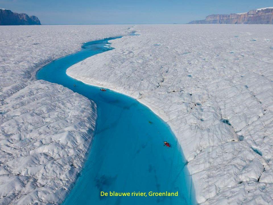 De blauwe rivier, Groenland