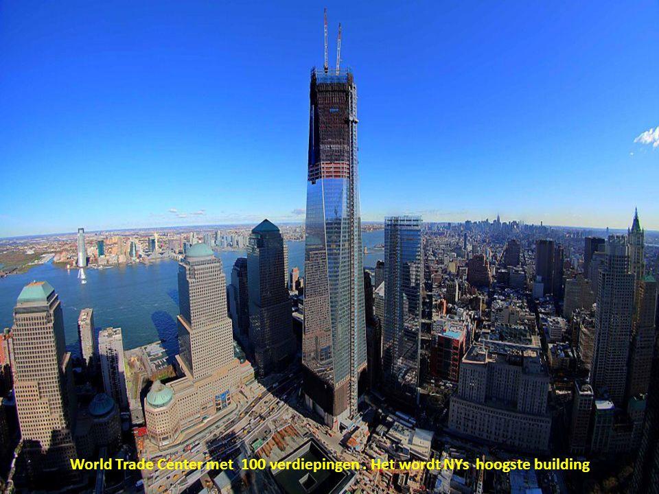 World Trade Center met 100 verdiepingen . Het wordt NYs hoogste building