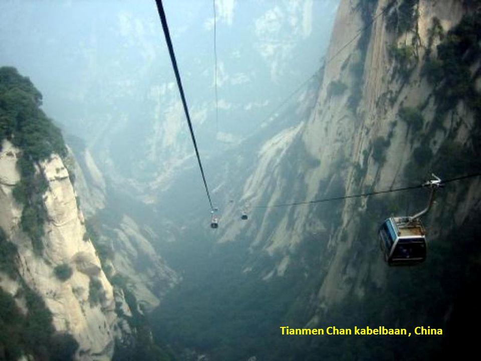 Tianmen Chan kabelbaan , China