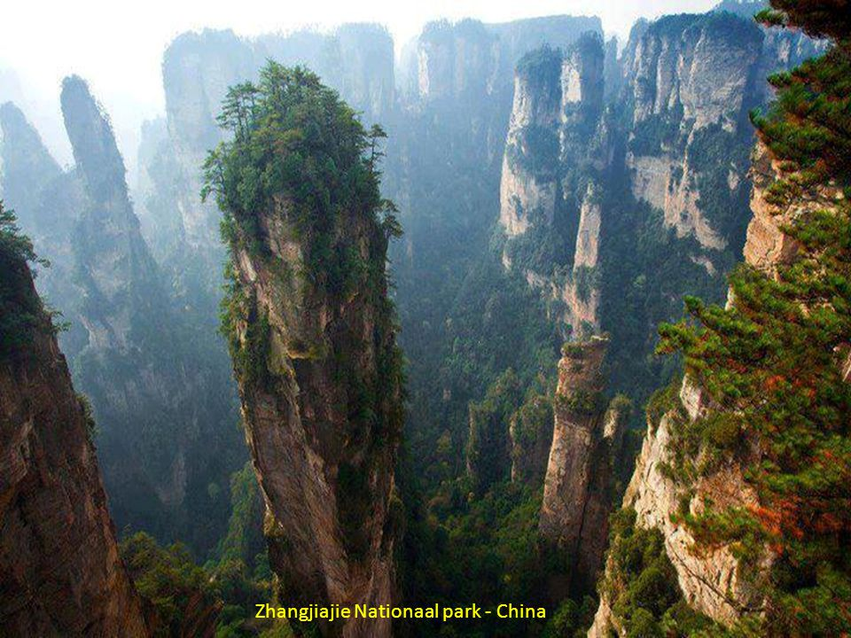 Zhangjiajie Nationaal park - China