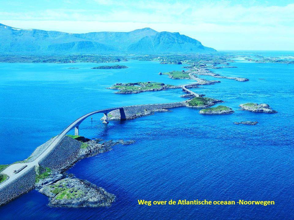 Weg over de Atlantische oceaan -Noorwegen