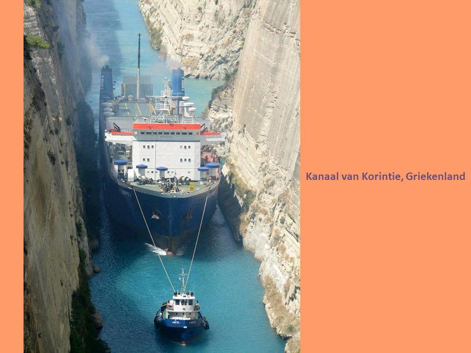 Kanaal van Korintie, Griekenland