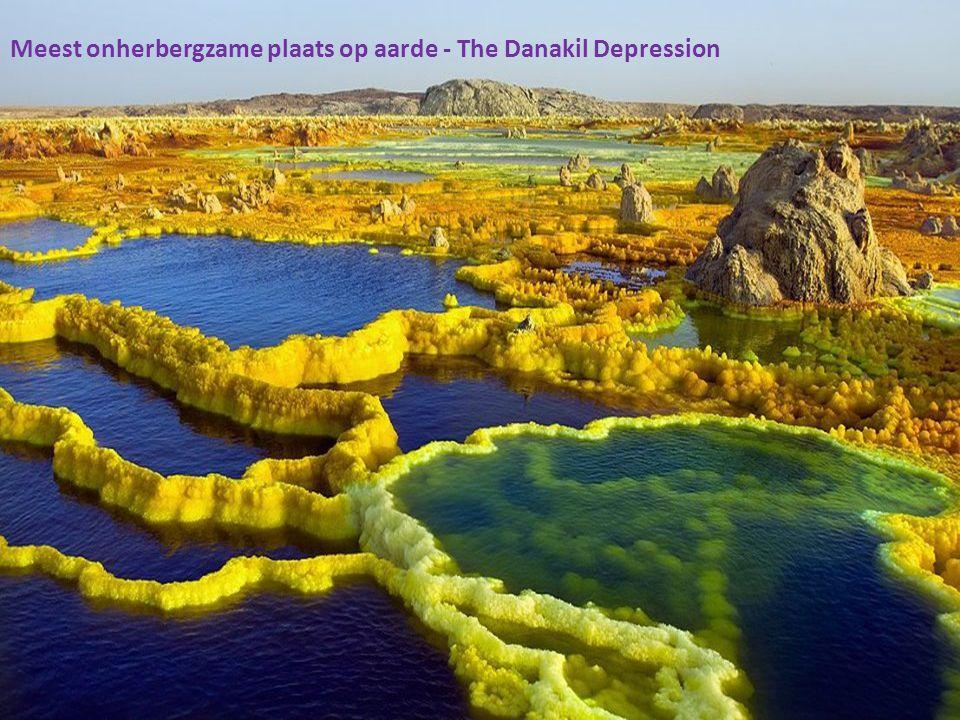 Meest onherbergzame plaats op aarde - The Danakil Depression