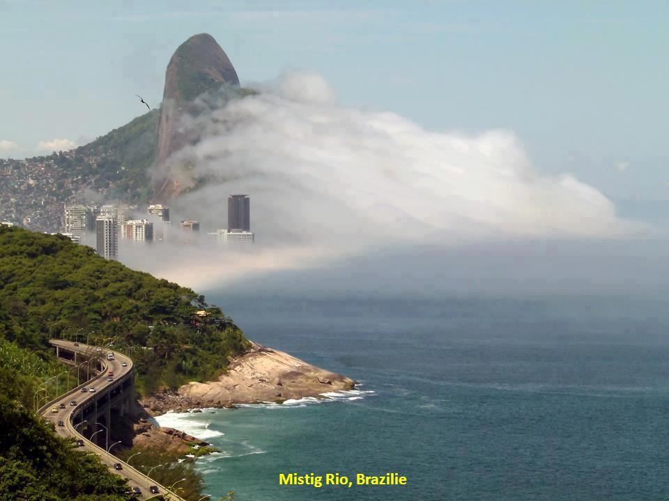 Mistig Rio, Brazilie