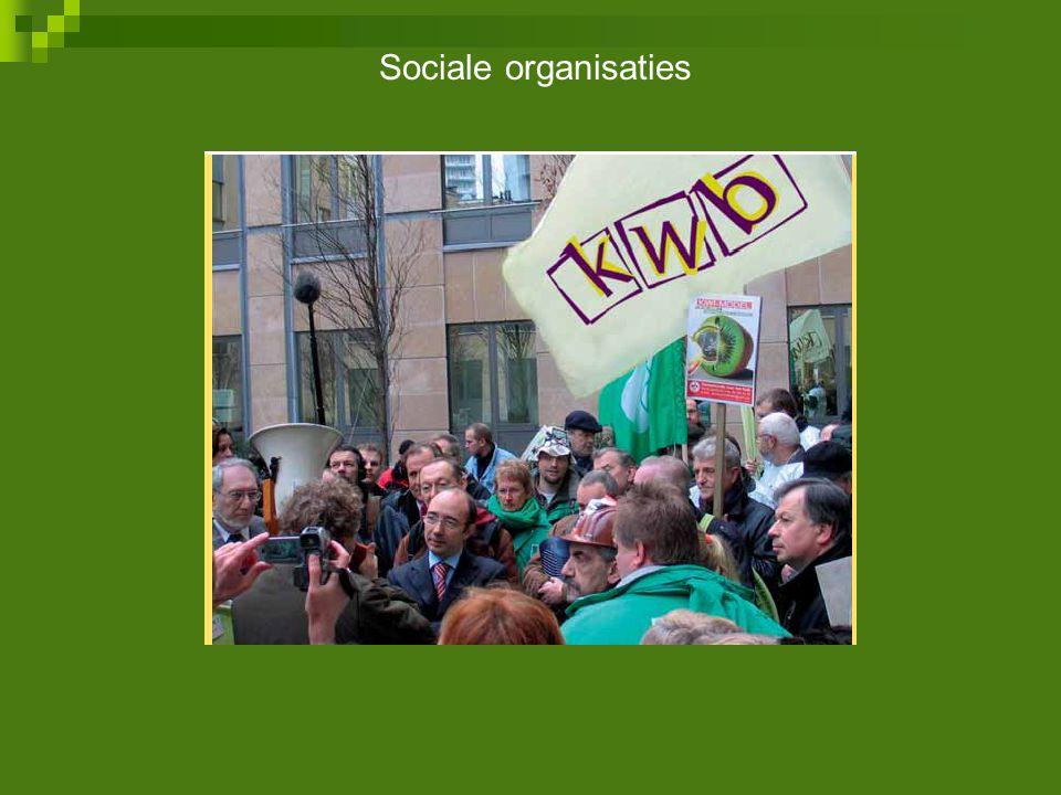 Sociale organisaties