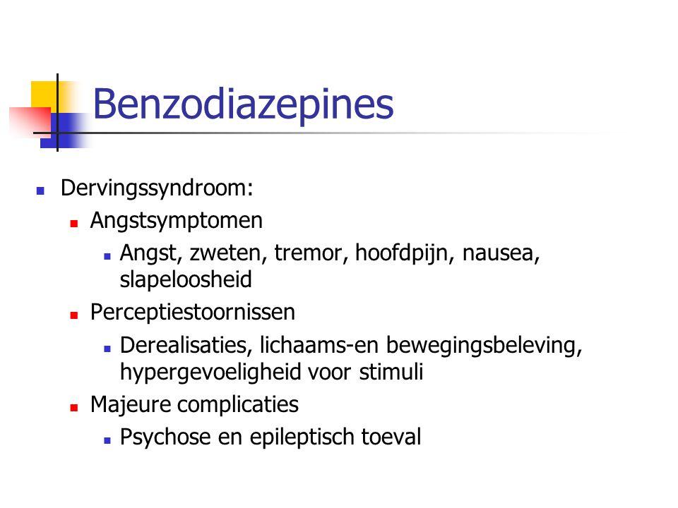 Benzodiazepines Dervingssyndroom: Angstsymptomen