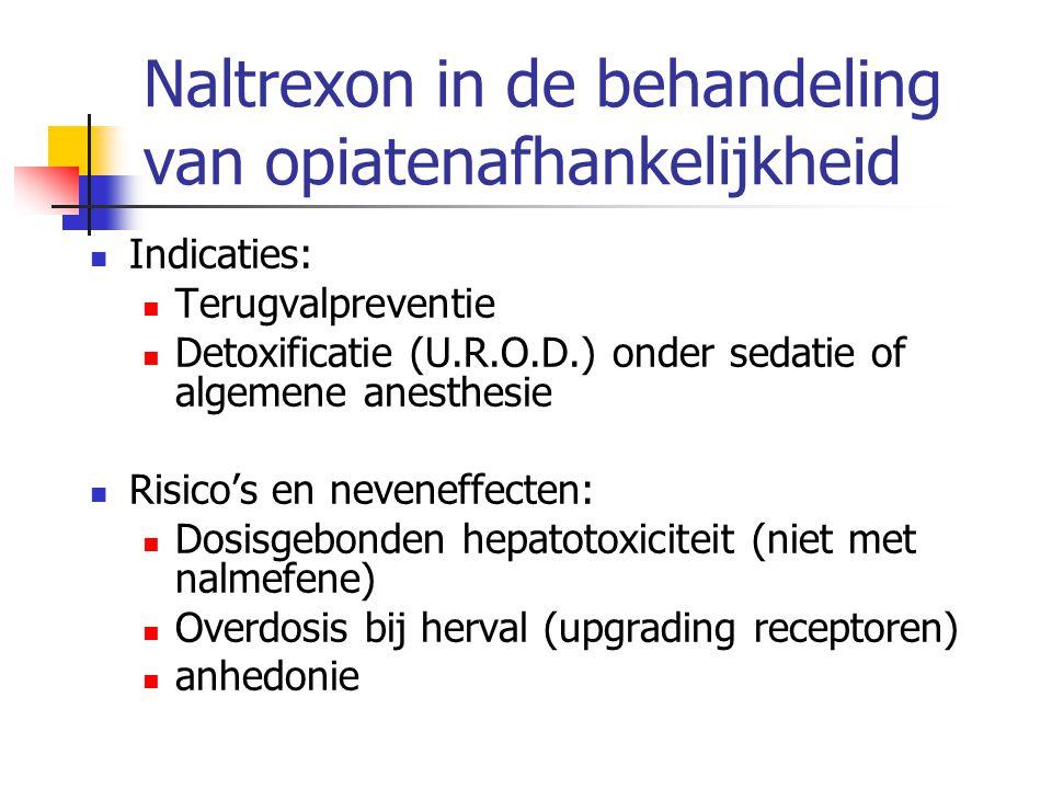 Naltrexon in de behandeling van opiatenafhankelijkheid
