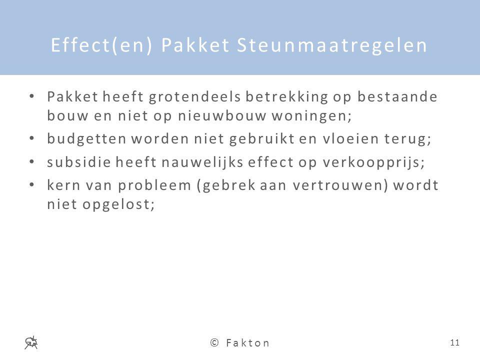 Effect(en) Pakket Steunmaatregelen