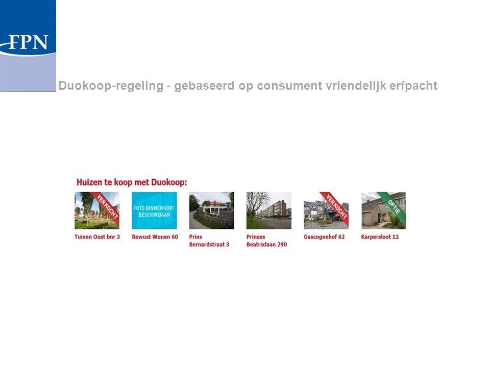 Duokoop-regeling - gebaseerd op consument vriendelijk erfpacht